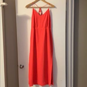 J. Crew Hot Pink Dress